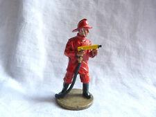 Figurine pompier Delprado -  Fireman  high pressure fire hose - Bolivia 1995