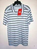 Mens The North Face Plated Crag Short Sleeve Striped Polo Shirt New NWT Size S