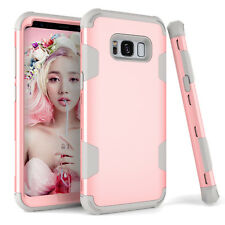 360 Hybrid Armor Shockproof Hard Phone Case Cover For Samsung S10 S9 Note 9 S20