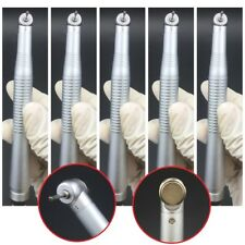 5pcs Dental Handpiece Push Button High Speed Mini Head 2 holes For Children