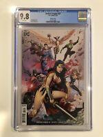 Justice League #37 CGC 9.8 Scott Snyder - Tony S. Daniel Variant 2020