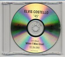 Elvis Costello CD 45 - 1-track acetate promo