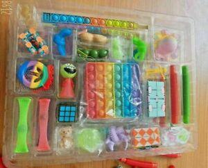 CHRISTMAS ADVENT CALENDAR ACTIVITY SET XMAS GIFT KIDS FUN Fidget Toys 2021 UK