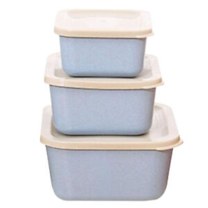 Bento Box Containers All-in-one Stackable 3 Layer Student Lunch Box Sushi Box TR