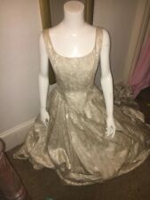 Ronald Joyce Wedding Dress Size 10 Ivory