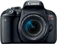 Canon EOS Rebel T7i DSLR Camera with EF-S 18-55mm IS STM Lens