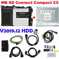 Mercedes MB SD C5 C4 Star Diagnostic + Software HDD Mercedes Benz Car Truck