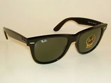 New  RAY BAN Original  WAYFARER  Sunglasses  RB 2140 901 Black Frame  54mm Large