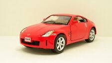 "Kinsmart Nissan FairLady 350Z 1:34 scale 5"" diecast model car New Red K78"