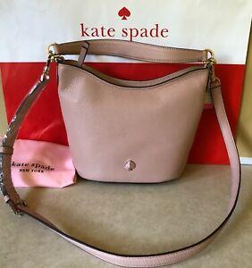 NWT Kate Spade Polly Small Hobo Leather Bag Purse Crossbody