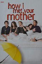 HOW I MET YOUR MOTHER - A3 Poster (ca. 42 x 28 cm) - Clippings Fan Sammlung NEU
