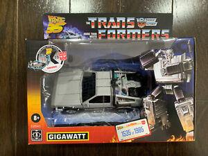 Transformers Collaborative Back to the Future Gigawatt Walmart / 1535 of 1985
