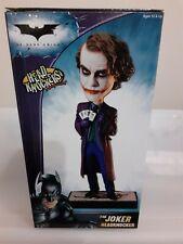 "NECA ""The Joker w/playing cards - The Dark Knight"" Headknocker NIB"