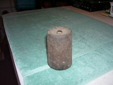 Antique Farm Platform Grain Scale Small  2 1/2 lb.  cast iron WEIGHT steampunk