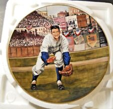 BILLY MARTIN THE RESCUE CATCH Great Moments Baseball Bradford Exchange Plate COA