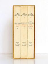 "BALZAC, BRILLAT-SAVARIN, GRIMOD DE LA REYNIÈRE ""Classiques de la table"" 1951"