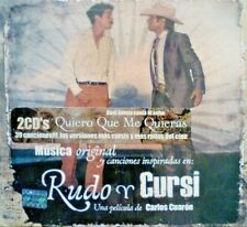 Música Original de la Película Rudo y Cursi 2 CDs New