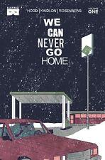 We Can Never Go Home vol 1 Paperback Ssalefish Exclusive Variant Black Mask