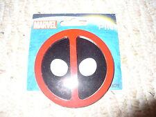 "Marvel - Deadpool Pin - Thick Hard Plastic - 3D -  2 7/8"" diameter"
