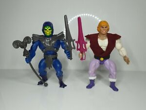 Vintage Motu,He-Man, Masters Of The Universe,Skeletor & Prince Adam,Custom/Repro