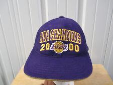 VINTAGE AMERCAN NEEDLE LOS ANGELES LAKERS 2000 NBA FINALS CHAMPION KOBE SHAQ