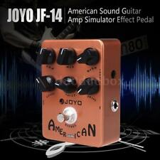 JOYO JF-14 American Sound Guitar Amp Emulator Effects Pedal Orange AU Ship GIFT