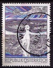 Echte Briefmarken mit Kunst österreichische