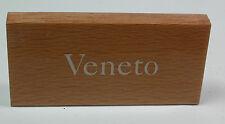 Vintage VENETO Small Wooden Display Sign for Case  #J