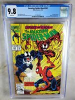 Amazing Spider-Man #362 2nd Carnage - Marvel 1992 CGC 9.8 NM/MT WP - Comic H0014