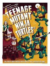 """""""Teenage Mutant Ninja Turtles"""" by Ian Glaubinger TMNT Giclee Print"""