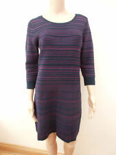 3/4 Sleeve Striped Cotton Maxi Dresses for Women