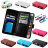 New Fashion Leather Purse Photo Frame Holder 9 Card Slots Wallet Case Flip Cover