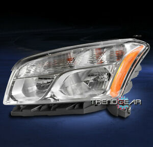 FOR 2013-2016 CHEVY TRAX LS LT LTZ REPLACEMENT HEADLIGHT LAMP CHROME DRIVER LEFT
