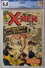 X-MEN #6 CGC 5.5 SUB-MARINER
