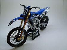 Bicicletta di modellismo statico blu
