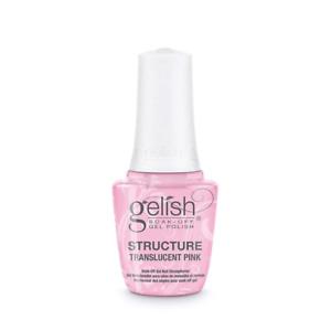 Harmony Gelish Structure Gel Brush On Formula - Translucent Pink (15ml)