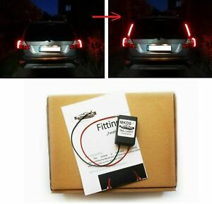 VOLVO V70 / XC70 '08-13 TAIL LIGHTS AFTER FACELIFT LOOK UPGRADE MODULE BY MKDS