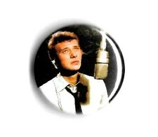 "Johnny Hallyday "" Badge """