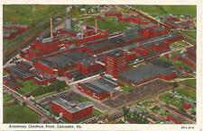 Lancaster PA Armstrong Linoleum Plant Postcard 1929