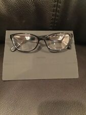 5964c35328f New VERA WANG V325 Eyeglasses Black 52 15 135 Spring Hinges