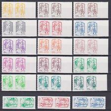 France 2013 Marianne Ciappa-Kawena Autoadhésif timbre Pro en paires NEUF** LUXE