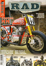 RAD MAGAZINE 21 HARLEY DAVIDSON 750 Turbo NORTON MM 961 BMW R100 VINCENT DUCATI
