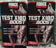 240ct Force Factor Test X180 BOOST 4/2023 Libido Lean Muscle