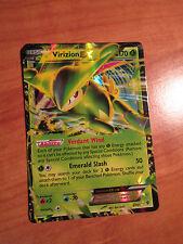 NM Pokemon Virizion Ex Carte Plasma Explosif Jeu de 9/101 Noir et Blanc Bw Ultra