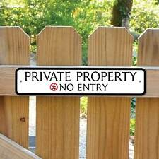 PRIVATE PROPERTY Sign, No Entry Sign, Private Sign,  Robust Gate Sign No Rusting