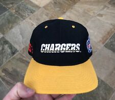 Vintage San Diego Chargers Starter Fitted Football Hat, Size 7 1/4