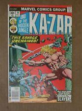 Marvel Comics Group Lord of the Hidden Jungle Ka-Zar 19 Dec 02492