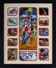 Chad Reed Limited Edition Framed Signed Memorabilia (w)