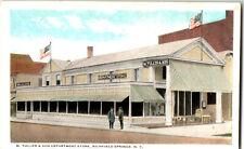 S21 2376 Vintage Postcard M. Tuller & Son Dept Store Richfield Springs NY c 1920