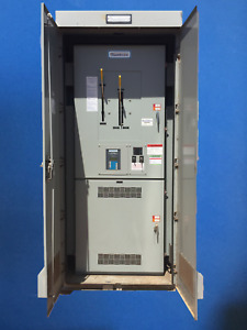 RUSSELECTRIC RTBDLB-10003CEF 1000A 277/480V 3PH TRANSFER SWITCH  NEMA 12R ENCL.